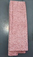 Покрывало Евро размера 3D роза East Comfort бледно-розовый окрас