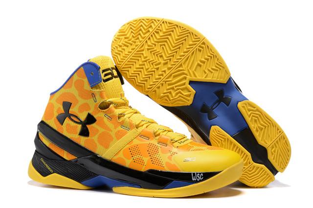 Under Armour Curry 2 Giraffe современная мужская обувь