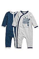 Человечки для мальчикаи (2 шт).  4-6, 6-9  месяцев.