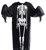 Карнавальный плащ Скелета