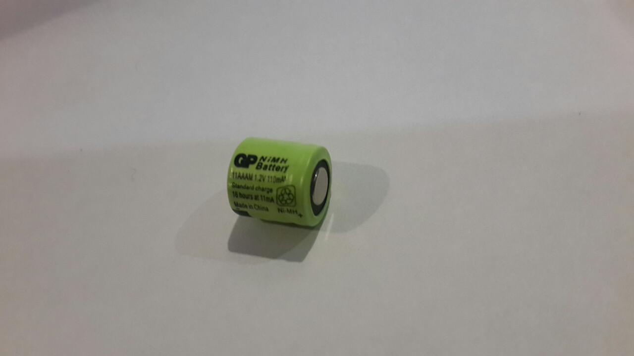 Аккумулятор технический GP 1/4AAA 1.2V 110mAh (Ni-Mh)
