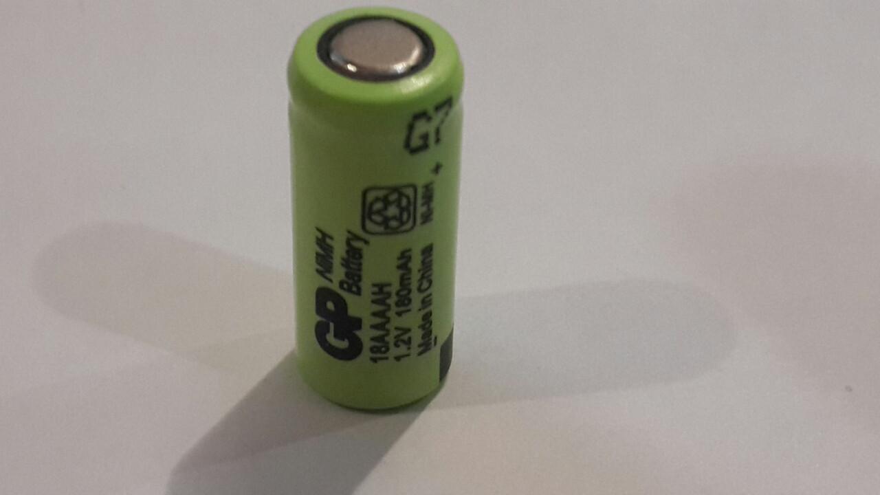 Аккумулятор технический GP 1/3AAAA 1.2V 180mAh (Ni-Mh)