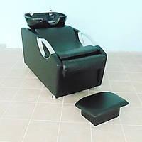 """Кресло - мойка парикмахерская стационарная для мытья волос """"ДенІС professional"""" DM-B6038 с подставкой для ног"""