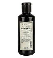 Травяной шампунь Кхади Амла Брингарадж, Khadi Herbal Shampoo Amla & Bhringraj, 210 мл
