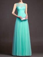 Вечернее Платье А- силуэта на Выпускной Свадьбу