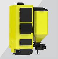 Твердотопливный котел Kronas Combi (пеллетный)75кВт с бункером,купить