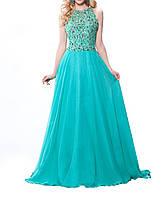 DL-521-3 Пышное Вечернее Макси Платье Выпускное
