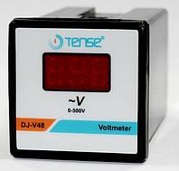 Вольтметр цифровой панельный щитовой 48х48 мм цена переменного тока шкаф електронний TENSE, фото 1
