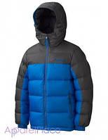 Marmot MARMOT Boy's Guides Down Hoody peak blue/slate grey куртка на мальчика