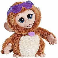 FurReal Friends Интерактивная обезьянка Baby Cuddles My Giggly Monkey Pet Plush