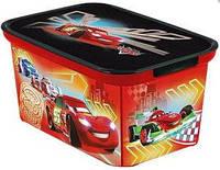 Декоративная коробка Curver Amsterdam Тачки