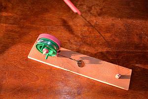 Жерлица на деревянной досточке, фото 2