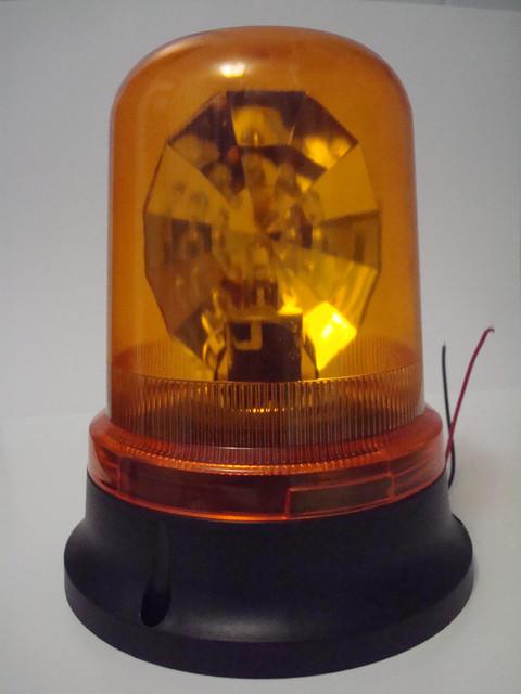 Мигалка на магніті MGT жовта 24V. Спецсигнал