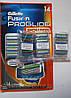 Картриджи Gillette Fusion Proglide Power 4шт., в розницу из большой упаковки