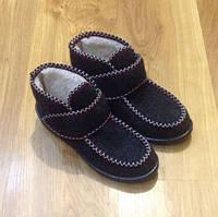 Валенки-ботинки на овчине с плотной подошвы.В наличии 36-41.