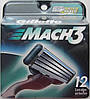 Картридж Gillette Mach3 DLC, 12 Cartridges