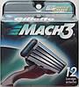 Картридж Gillette Mach3 DLC, 12 Cartridges