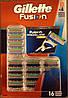 Картриджи Gillette Fusion, 16 Count Cartridge