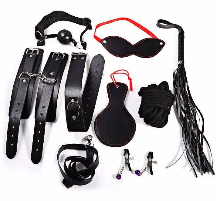 Набор госпожи для BDSM игр из 8-ти предметов