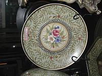 Тарелка, декоративная, керамика, орнамент, D27, Декор для дома, Днепропетровск