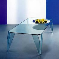 Стильный стеклянный журнальный столик