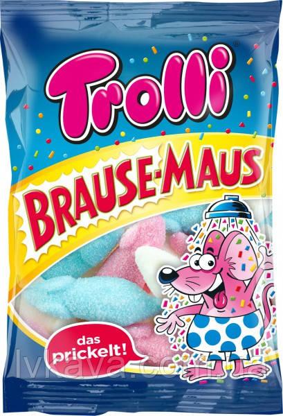 Желейные конфеты Trolli Brause- Mause, 200 гр