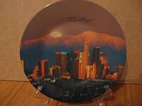 Тарелка сувенир Лос Анжелес