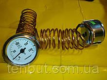 "Термометр металлический Ø-60 мм. / 200""С / 2-метра .Производство Турция PAKKENS"