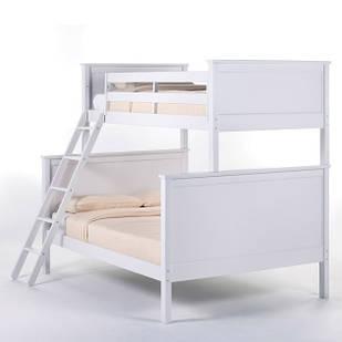 Двухъярусная кровать «Серхио» с широким спальным местом