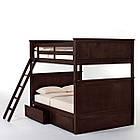 Двухъярусная кровать «Серхио» с широким спальным местом, фото 3