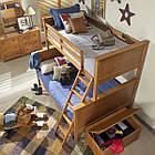 Двухъярусная кровать «Серхио» с широким спальным местом, фото 6