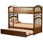 """Двухъярусная кровать из дерева """"Артемон"""" с выдвижным спальным местом, фото 3"""