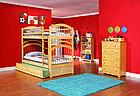 """Двухъярусная кровать из дерева """"Артемон"""" с выдвижным спальным местом, фото 5"""