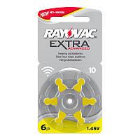 Батарейки для слуховых аппаратов Rayovac Extra Advanced 10