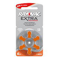 Батарейки для слуховых аппаратов Rayovac Extra Advanced 13