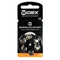 Батарейки для слуховых аппаратов Widex 13