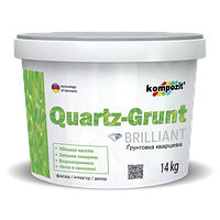Грунтовка адгезионная QUARTZ-GRUNT Kompozit (Квартс-грунт Композит), 14кг