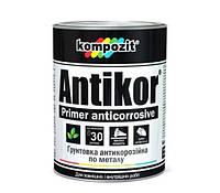 Грунтовка для металла ANTIKOR Kompozit Композит (серая), 3,5кг