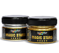 Глиттер MAGIC STARS Kompozit Композит (серебро) 0,06л
