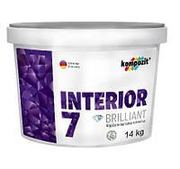 Краска интерьерная INTERIOR 7 Kompozit®, 14кг