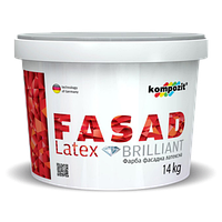 Фасадная краска FACAD LATEX Kompozit®, 14кг