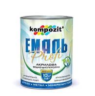 Эмаль акриловая PROFI Kompozit (Композит) матовый шелк 3л