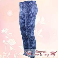 Байковые лосины под джинсовую ткань для девочек от 9 до 13 лет (4849-2)