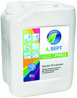 моющее средство для мойки трубопроводов и емкостей A.SEPT PRO MULTI-PURPOSE концентрированное щелочное