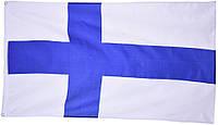 Национальный флаг Финляндии 90х150см