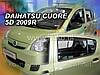 Ветровики Daihatsu вставные (Польша - США)