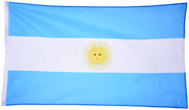 Национальный флаг Аргентины 90х150см , фото 2