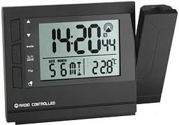 Проекційний годинники TFA, 153x43x107 мм