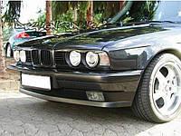 """Реснички на фары BMW 5 E34 """"С вырезами"""""""