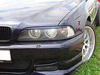 "Реснички на фары BMW 5 E39 ""Прямые"""